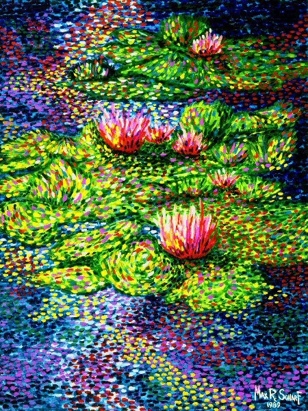 Monet's Lily Pads