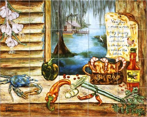 Tile Murals Kitchen Backsplash Tile Art