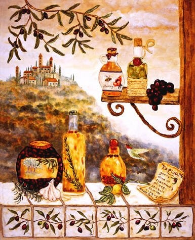 Tuscan Kitchen by Linda paul